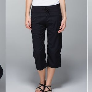 Lululemon Studio Crop Pants Black